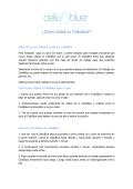 ¿Cómo utilizar tu CelluBlue?