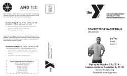 registration form - YMCA of San Joaquin County