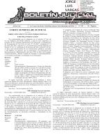 BOLETÍN JUDICIAL N° 242 de la fecha 16 12 2014 - La Gaceta