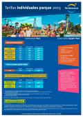 Tarifas individuales parque 2015 - PortAventura