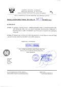 RESOLUCIÓN DIRECTORAL DE UGEL N - UGEL Cajamarca