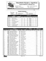 Team And Player Standings - Bullshooter