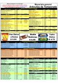 lista de precios general - Articulos de temporada