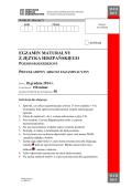egzamin maturalny z języka hiszpańskiego poziom rozszerzony
