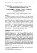 MONOSOMIA DEL BRAZO LARGO DEL CROMOSOMA 9 - SciELO