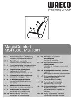 MagicComfort MSH300, MSH301 - Dometic WAECO
