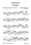 (1916-1977) (choro) gente boa - Free-scores.com