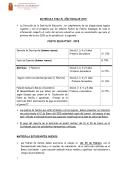 Matrícula 2015 - Estudiantes Nuevos
