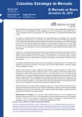 Informe económico diario - Citibank