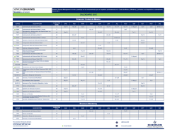 Calendario - Emerson Process Management