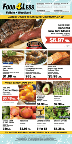 Food4Less Ad December 24, 2014 - Food 4 Less Woodland