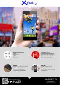 Ficha Smartphone Avenzo Xirius 5 - Xirius by avenzo