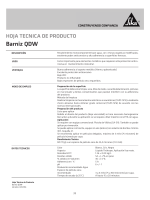 Barniz QDW - Sika Colombia
