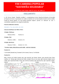 "VIII CARRERA POPULAR ""NAVIDEÑA SOLIDARIA"" - Geminacronos"