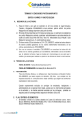 Reglamento sorteo 10 motos y 4 carros Suzuki - Colsubsidio