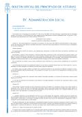 IV. Administración Local - Gobierno del Principado de Asturias