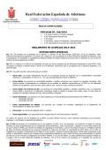 SECRETARIA GENERAL - Federación Española de Atletismo
