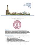 FAQ STANFORD 2015 - Tecnológico de Monterrey
