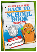 BTS book 2014-15.pub - Valley View School District 365U