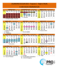 calendario escolar 2015 - SINPRO-DF