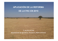 aplicación de la reforma de la pac en 2015