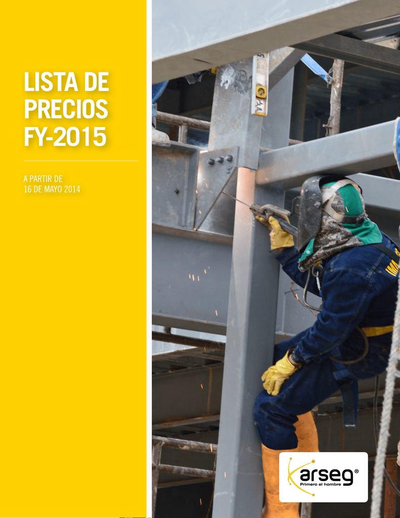 Lista De Precios Fy 2015