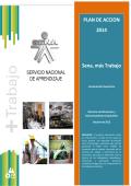 PLAN DE ACCION 2014 Sena, más Trabajo
