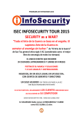 ISEC INFOSECURITY TOUR 2015