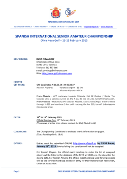 spanish international senior amateur championship