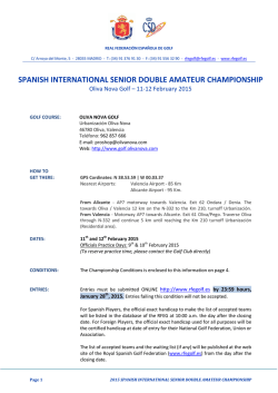 spanish international senior double amateur championship