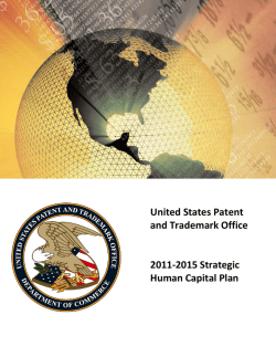 2015 Strategic Human Capital Plan