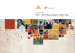 2011-2015 Reconciliation Action Plan (RAP)