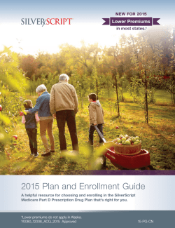 2015 Plan and Enrollment Guide