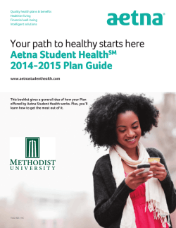 Plan Guide - Collegiate Risk Management