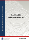 Fiscal Year 2015 Annual Performance Plan