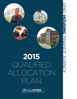 2015 Qualified Allocation Plan (QAP)