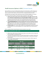 Health Insurance Options in 2015 | Fremont County