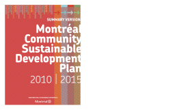 Sustainable Development Plan