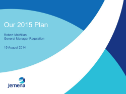 Our 2015 Plan