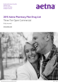 2015 Aetna Commercial Three Tier Open Formulary