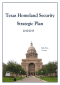 Texas Homeland Security Strategic Plan 2010-2015