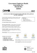 2015 Standard and High Option Brochure