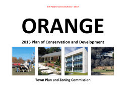 2015 Plan of Conservation and Development