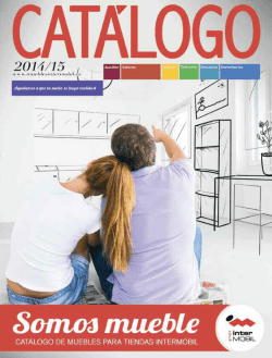 Catalogo - Muebles Intermobil