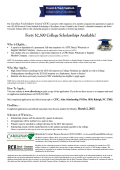 Scholarship 2015 Poster.pub - Carolinas Food Industry Council