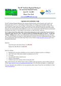 Grad Fair Application - 2015 Northeast Regional Meeting