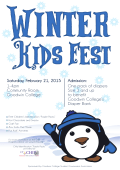 Winter Kids Fest 2015 Poster