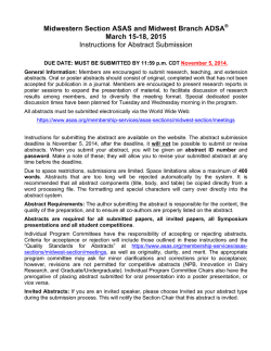 2015 Abstract Submission Instructions (PDF)