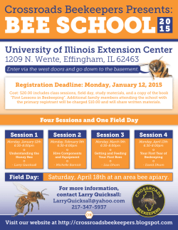 3rd Draft-Bee School 2015 Poster