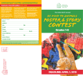 2015 Poster and Story Contest Brochure Grades 1-8